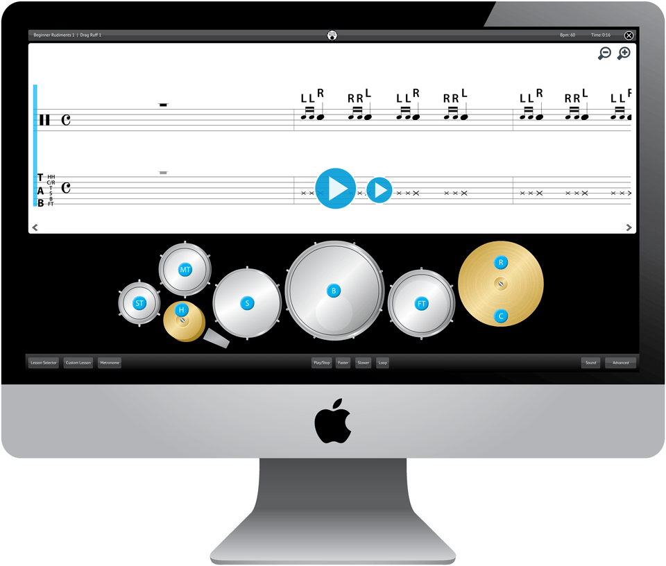 Purely Drums Software Application
