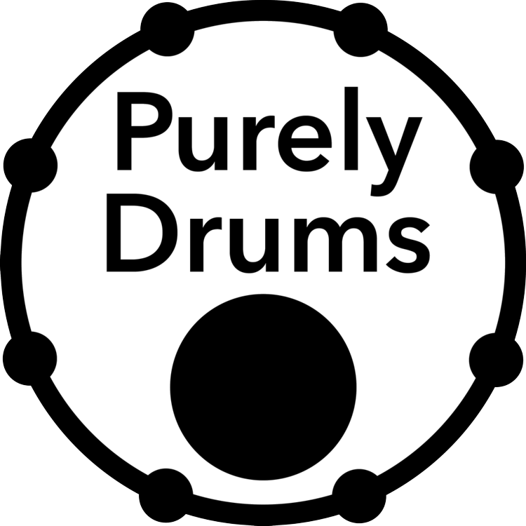 Purely Drums Logo